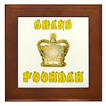 Fathers Day Grand Poohbah Framed Tile