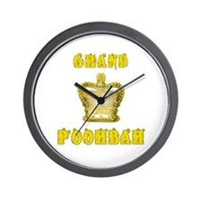 Fathers Day Grand Poohbah Wall Clock