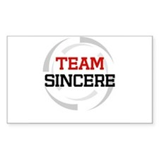 Sincere Rectangle Decal