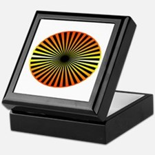 Orange Wheel Keepsake Box