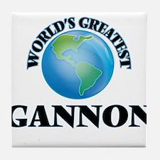 World's Greatest Gannon Tile Coaster