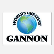 World's Greatest Gannon Postcards (Package of 8)
