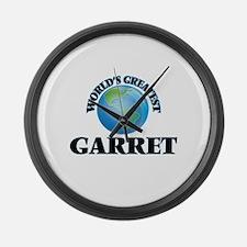World's Greatest Garret Large Wall Clock