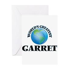 World's Greatest Garret Greeting Cards