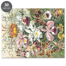 Orchidae Flowers Puzzle