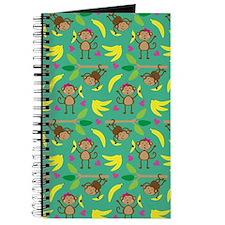 Boy and Girl Monkeys Journal