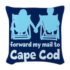 Cape Cod Woven Throw Pillow