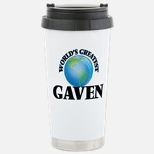 World's Greatest Gaven Stainless Steel Travel Mug