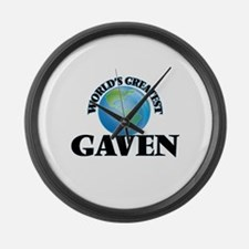 World's Greatest Gaven Large Wall Clock