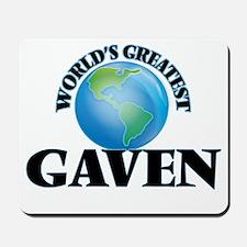 World's Greatest Gaven Mousepad