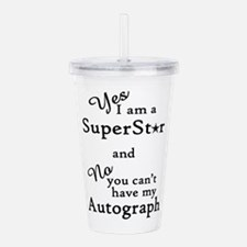 SUPERSTAR Acrylic Double-wall Tumbler