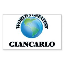 World's Greatest Giancarlo Decal