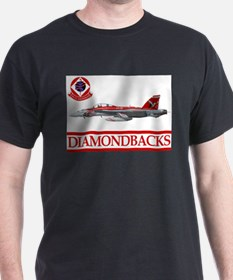 VFA-102 DIAMONDBACKS Ash Grey T-Shirt
