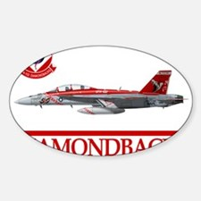 VFA-102 DIAMONDBACKS Rectangle Decal