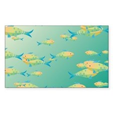 Underwater scene Decal