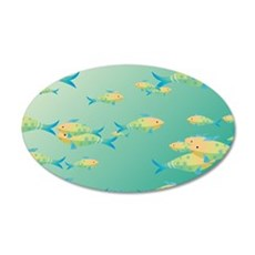 Underwater scene Wall Decal