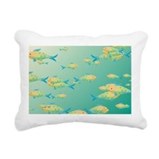 Underwater scene Rectangular Canvas Pillow