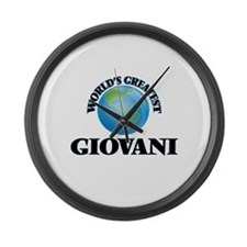World's Greatest Giovani Large Wall Clock