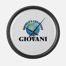 World's Greatest Giovani Large Wall Clock