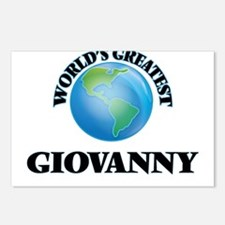 World's Greatest Giovanny Postcards (Package of 8)