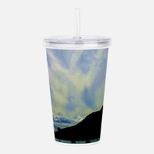 Cloudy Sky Acrylic Double-wall Tumbler