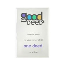 doGood charitable Rectangle Magnet