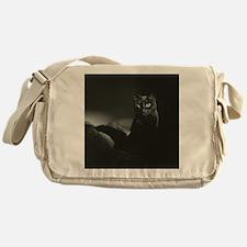 Cute Chat noir Messenger Bag