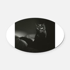 Unique Thriller Oval Car Magnet