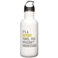 Its A History Thing Sports Water Bottle