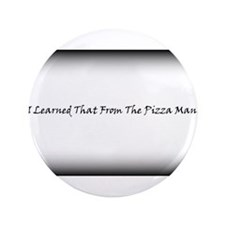 "Pizza Man 3.5"" Button (100 pack)"