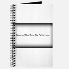 Pizza Man Journal
