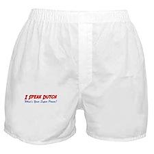 I Speak Dutch Boxer Shorts
