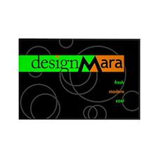 Cute Designmara Rectangle Magnet