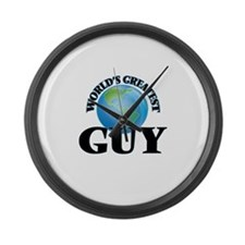 World's Greatest Guy Large Wall Clock