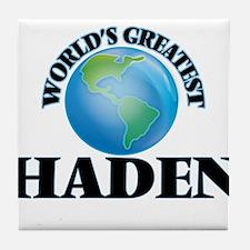 World's Greatest Haden Tile Coaster