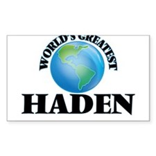World's Greatest Haden Decal