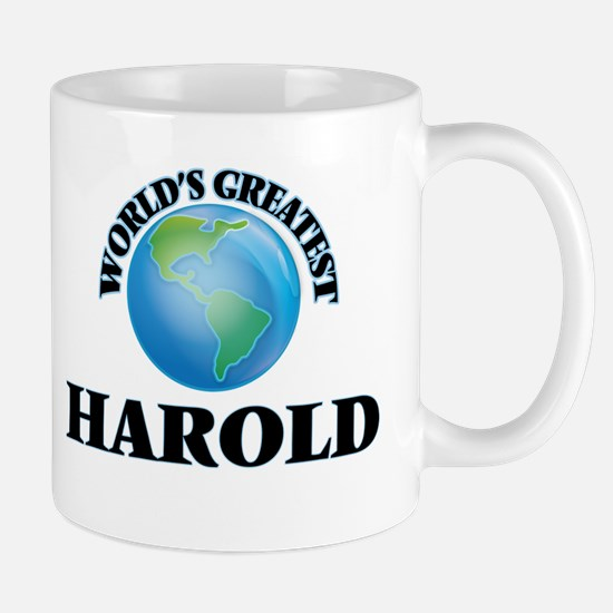 World's Greatest Harold Mugs