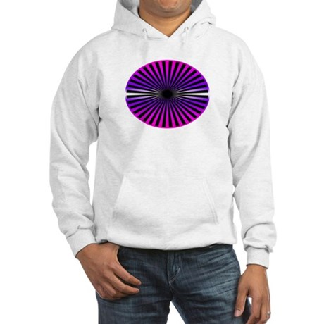 Pink Wheel Hooded Sweatshirt