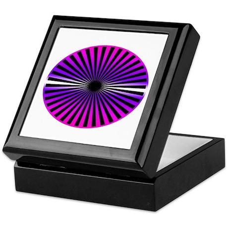 Pink Wheel Keepsake Box