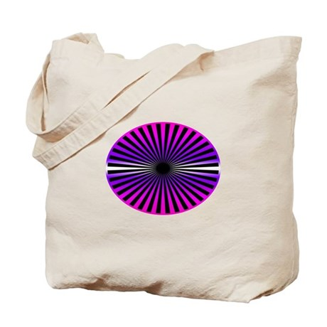 Pink Wheel Tote Bag
