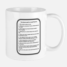 You Know Youre a Lab Tech if... Mugs
