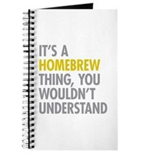 Its A Homebrew Thing Journal