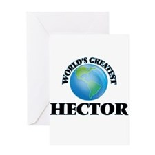 World's Greatest Hector Greeting Cards