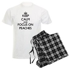 Keep Calm and focus on Peache Pajamas