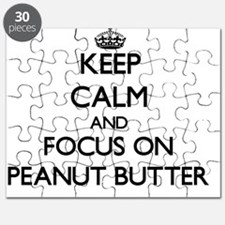 Keep Calm and focus on Peanut Butter Puzzle