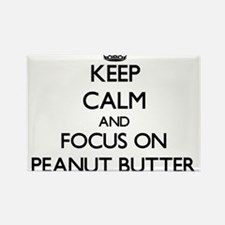 Keep Calm and focus on Peanut Butter Magnets