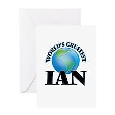 World's Greatest Ian Greeting Cards