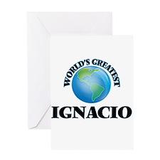 World's Greatest Ignacio Greeting Cards