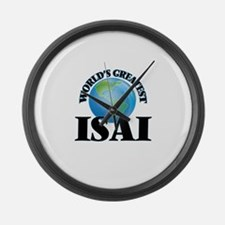 World's Greatest Isai Large Wall Clock