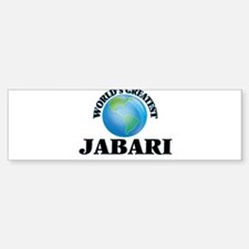World's Greatest Jabari Bumper Bumper Bumper Sticker